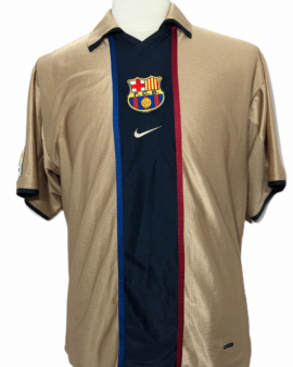 """FC Barcelone 2001-2002 AWAY Taille """"L"""""""