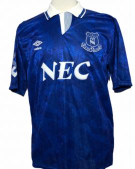 """Everton 1991-1992 HOME Taille """"XL"""""""