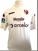 "Metz 2006-2007 Worn Porté AWAY Taille ""XL"" 21 DIOP"