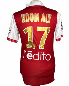 """Reims 2016-2017 HOME Porté Taille """"L"""" #17 NDOM ALY"""
