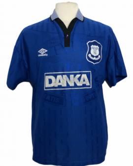 """Everton 1995-1996 HOME Taille """"L"""""""