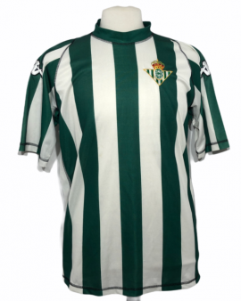 """Betis Seville 2003-2004 HOME Taille """"XL"""""""