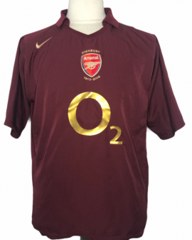 """Arsenal 2005-2006 HOME Taille """"XL"""""""