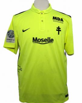 "Metz 2015-2016 Worn Porté Goal Taille ""XL"" 40 DIDILLON"