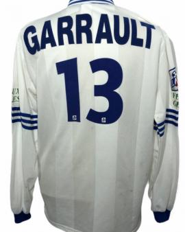 "Chateauroux 1996-1997 Porté AWAY Taille ""XL"" #8 GARRAULT"