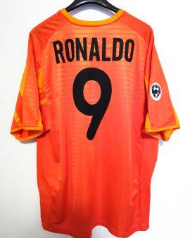 2001/02 Ronaldo Inter Milan (XL) third shirt orange