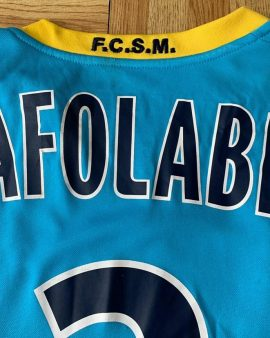 Sochaux – Matchworn by AFOLABI Vs NANTES