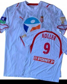 Monaco matchworn League Cup – J. KOLLER