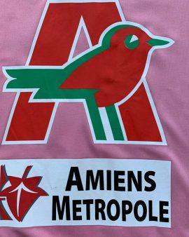 2007 ASC AMIENS MATCH WORN #9 HEITZMANN