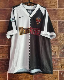 Rarely authentic jersey New York Metrostars 1996 away MLS Nike Vintage Player Issue