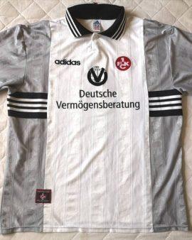 Authentic jersey FC Kaiserslautern 1998/1999 Away Adidas Vintage