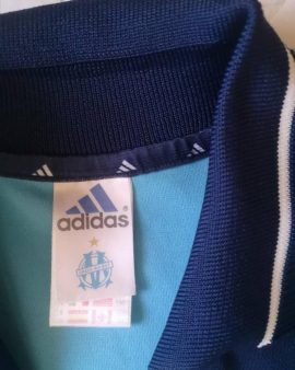 Authentic jersey Olympique Marseille 2000-2001 Away Adidas Vintage