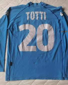 Authentic jersey Totti #20 Italy Euro 2000-2001 home Kappa Vintage