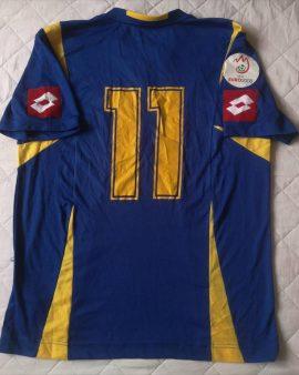 Jersey Ukraine #11 Oleksandr Kucher Euro 2008 Lotto Vintage Player Issue