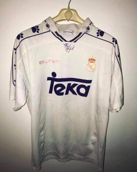 Real Madrid 1994 matchworn #9 ZAMORANO
