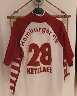 Hamburg (hamburger) 2000-2001 official nameset KETELAER size S good condition