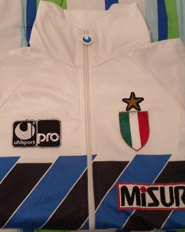 """""""Match Worn"""" 1989 1990 extremely rare worn inter milan jacket size L"""