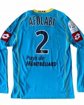 Sochaux – matchworn #2 AFOLABI