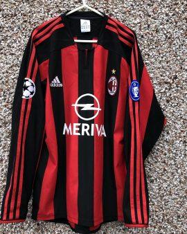 AC MILAN 2003/2004 UEFA CL