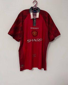 1996/97 Man Utd Home Football Shirt (XL)