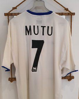2003 – 2004's chelsea FC rare MUTU shirt excellent condition size XL