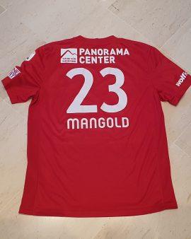 Maillot porté FC Thun / FC Thoune 2014 Mangold taille L excellent etat