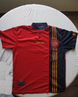 Maillot selection Espagne 1996 – 1998
