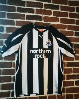 Maillot officiel Newcastle, floqué Barton, taille L