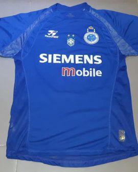 Cruzeiro Esporte Clube 2004 Match Worn