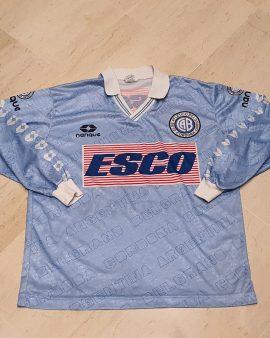 Rare Matchworn 1995-96 Club Atletico Belgrano shirt ( Javier Albarello )