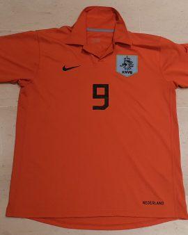 2006-08 Netherlands Shirt ( Ruud Van Nistelrooy) Size L