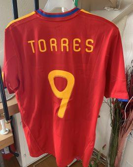 Fernando Torres – Coupe du Monde 2010 – Espagne – taille L