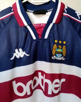 Maillot Manchester City Third 1998 Kappa