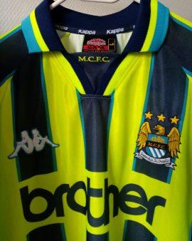 Maillot Manchester City Away 1998 Kappa