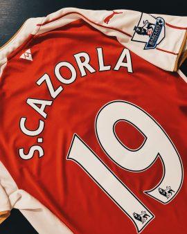 Cazorla Arsenal 15/16 Home Shirt
