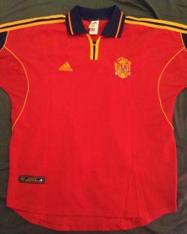 Maillot Espagne Home 1999/2001
