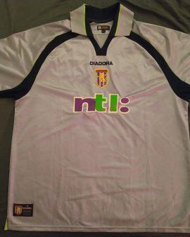 Maillot Aston Villa Away 2001/2002