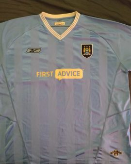 Maillot Manchester City Home 2003/2004