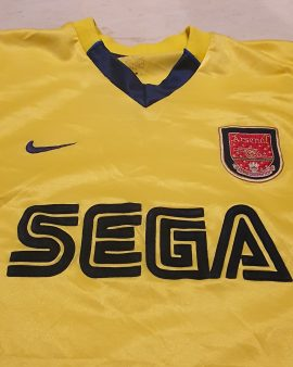 1999-2000 arsenal Shirt (player issue Version) size L