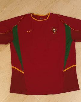 2002 – 2004 Portugal Home Shirt Size XL