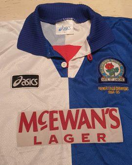 1994-95 Blackburn Rovers premier league champions size xl