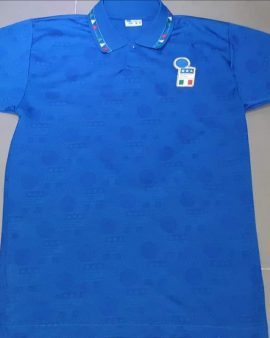 Italia home shirt 1994 version player taille M/L