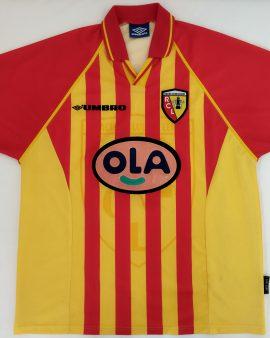 Maillot foot RC Lens 1998-1999 Dalmat