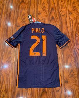 New York City FC Away football shirt 2016-2017 Pirlo jersey soccer player issue