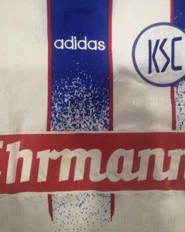 Jersey Karlsruhe 1996-97 home Adidas Vintage