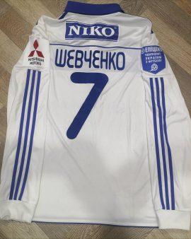 Jersey Shevchenko Dynamo Kiev 2012 Player Issue
