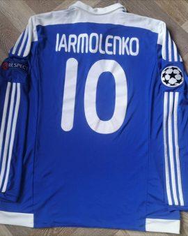 Match Worn jersey Iarmolenko Dynamo Kyiv 2016