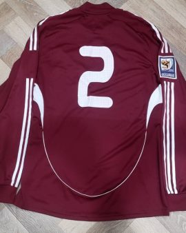Match Worn jersey Oskars Klava Latvia Formotion