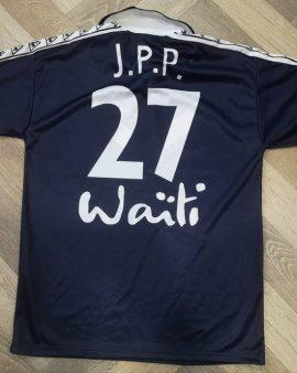Jersey Jean Pierre Papin #27 FC Girondins de Bordeaux 1996-97 home Vintage
