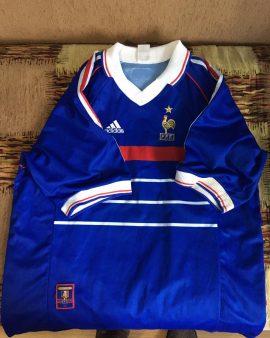 Maillot équipe de France 1998 – Officiel
